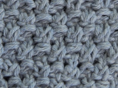Blanket Moss Stitch