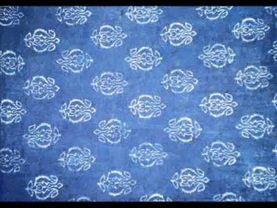 Block Printing & Fabric natural dyeing DESIGNS.wmv Sindhi, Pakistan