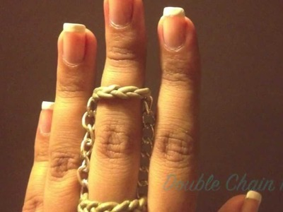 DIY| How to make Double Ring Chain | Polymer Clay
