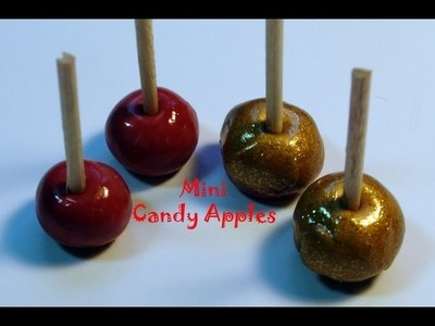 DIY: How To Make Easy Mini Candy Apples With Polymer Clay