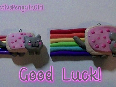 DIY: Nyan Cat (Polymer Clay)