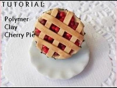 Diy Polymer Clay Cherry Pie