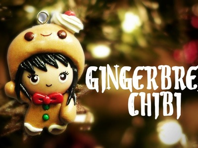 DIY Polymer Clay Gingerbread Chibi