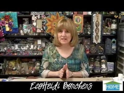 EcoHeidi Borchers - How to Make a Mosaic Heart Plaque