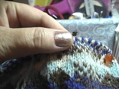 Fair Isle Sweater Tutorial Part 6a