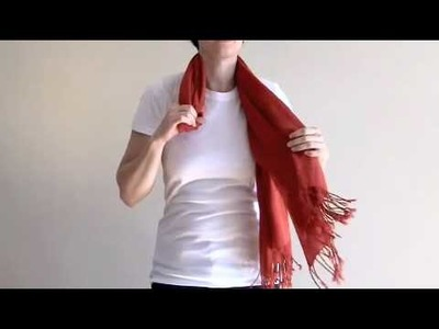 Figure Eight Knot Scarf Tutorial