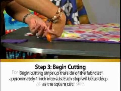 Fleece Tie Blanket Instructions for Hope For Savannah Volunteers