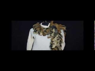 Fringe fleece scarves1   www.twochixremix.com on etsy
