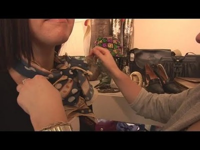 How To Bind A Silk Scarf