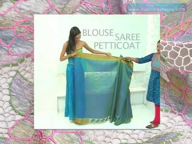 How to Drape a Saree in 3 Easy Steps