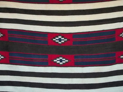 How to identify a Navajo Chiefs Blanket
