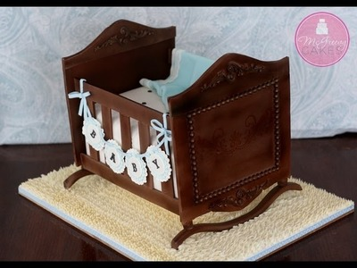 How to Make a Cradle Cake; A McGreevy Cakes Tutorial