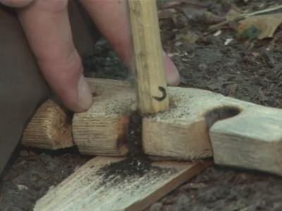 How To Make A Fire Using Sticks