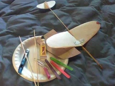 How to Make a Glider From Simple Materials