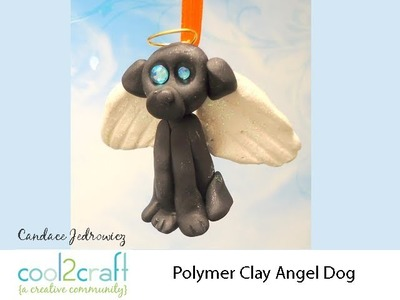How to Make a Polymer Clay Dog Angel by Candace Jedrowicz