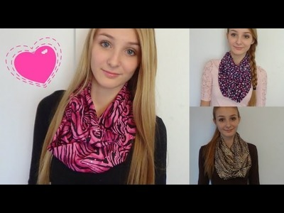 HOW TO: Make Infinity Scarves!