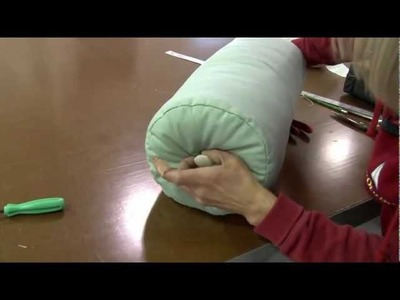 How to Make Neckroll Pillow Covers or Bolster Pillow Covers