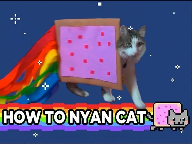 HOW TO NYAN CAT