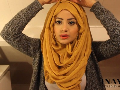 How To Style Your INAYAH Scarf | Hijab Tutorial #4