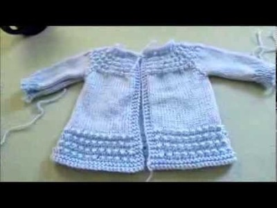 I made a baby sweater!