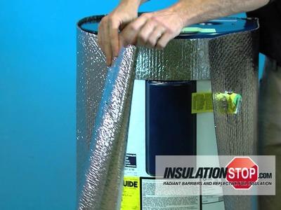 InfraStop™ Hot Water Heater Blanket Installation