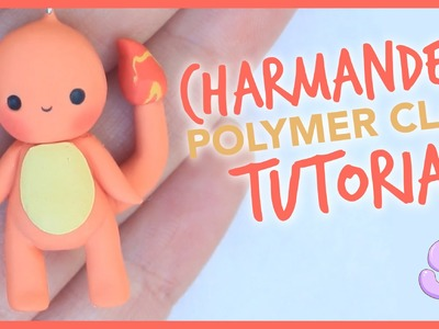 Kawaii Charmander | Polymer Clay Tutorial