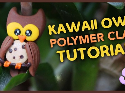 Kawaii Owl | Polymer Clay Tutorial