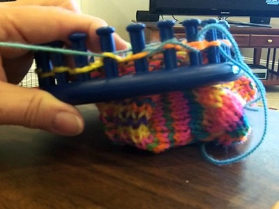 Loom Sock Toe