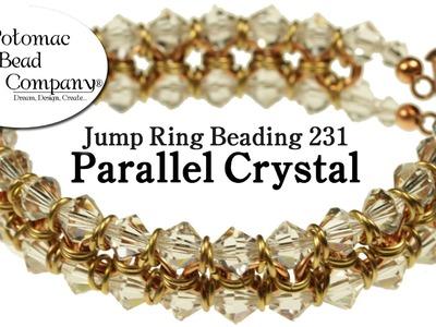 Make a 'Parallel Crystal' Bracelet