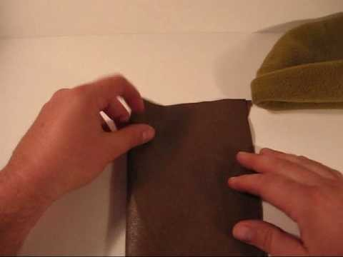 Making your own watch cap