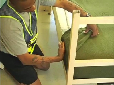 !!MUST SEE!! Survive Basic Training. Learn To Make A Military Bunk  !!WOW!!