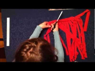 P.I.Y. ~Make a Fringe-y Hip Scarf~