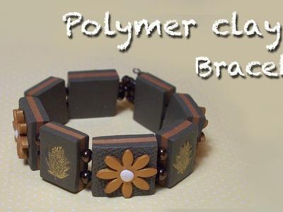 Polymer clay bracelet Tutorial -  Braccialetto - Pulsera con arcillas poliméricas
