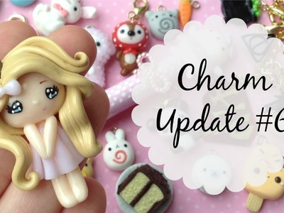 Polymer Clay Charm Update #6 + Crafter Features! ♡