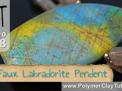 Polymer Clay Faux Labradorite Pendent Tutorial (Intro)
