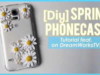 Polymer Clay Spring Phone Case (DIY on DreamWorksTV)