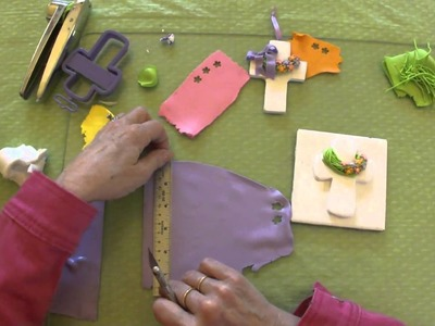 Polymer Clay Tutorial - How to make an Easter Cross