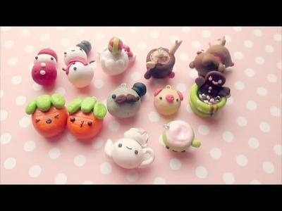 Polymer Clay Update #5 (Christmas Charms)