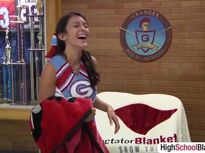 Spirit Wrap Blankets - The Perfect School Spirit Product? High School Blankets