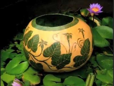 The Lost Art of Ipu Pawehe: Tattooed Gourds of Hawaii
