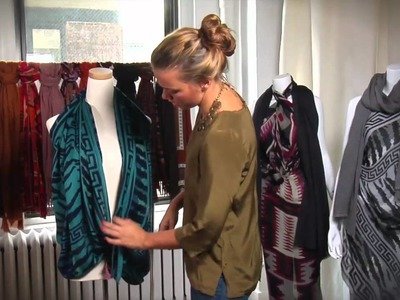 Ways to Wear -- A Drapey Knotted Scarf Vest