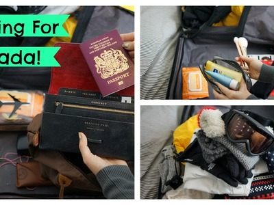 What I'm Packing For Canada! | EmTalks