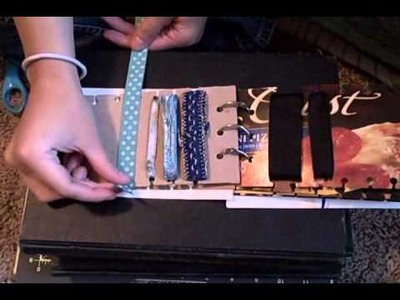 Whitney Sews- Making a Book to Organize Ribbon