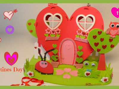 3 Valentine's Day  Crafts| Valentines Day DIY Gift Ideas| B2cutecupacakes