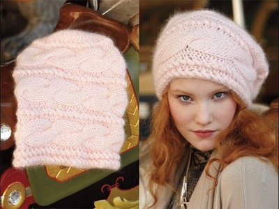 #30 Relaxed Beanie, Vogue Knitting Holiday 2012