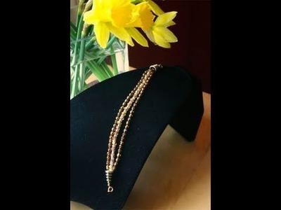 Bead Workshop #7: Multi Strand Bracelet