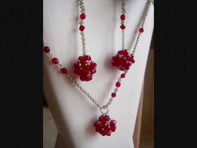 Beaded jewelry at http:.www.etsy.com.shop.FlowersbyIrene