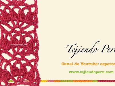 Cenefa para aplicar tejida en crochet # 5