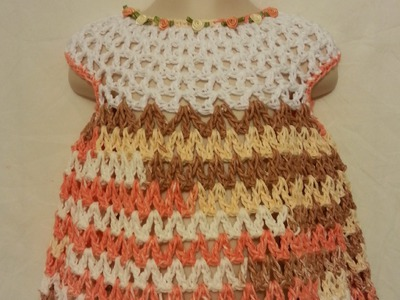 #Crochet Easy Baby Toddler Spring Summer Dress #TUTORIAL