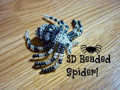 DIY 3D Beaded Spider ¦ The Corner of Craft